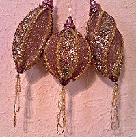 Burnished Copper Ornaments
