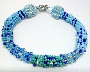 Crazy Blues Bracelet