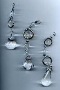 Crystal Beaded Danglers Ornaments