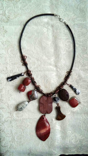 Earthy Stones Necklace