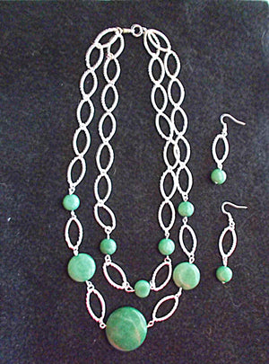 Enchanting Aventurine Jewelry Set
