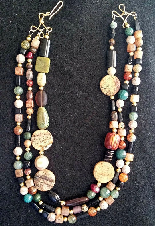 Fall Gems Necklace