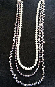 Freeform Pearls Necklace
