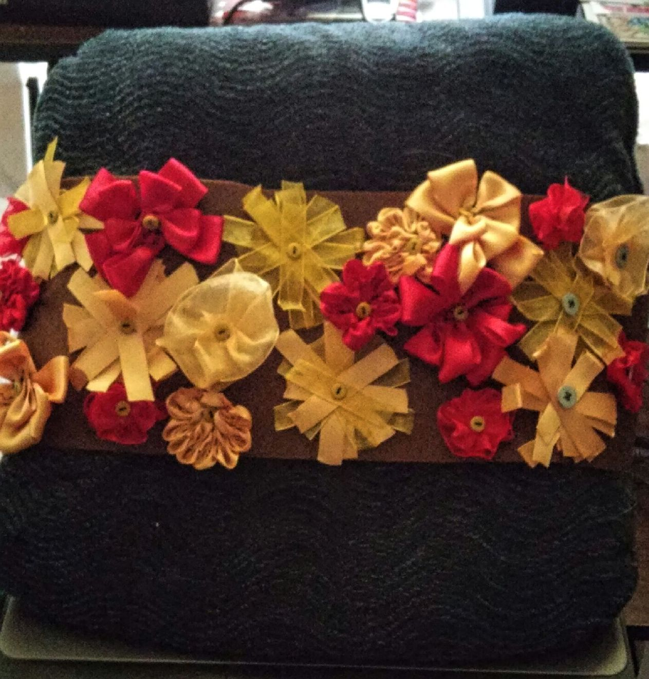 Floral Pillow Wrap