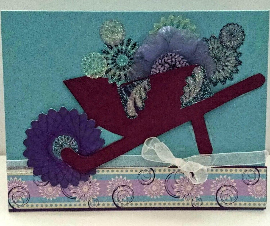 Garden Wheelbarrow Card