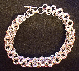 Inverted Roundmail Chain Bracelet