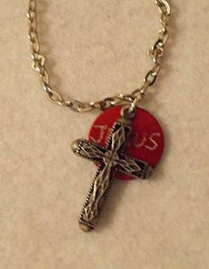 Jesus Cross Charm Necklace
