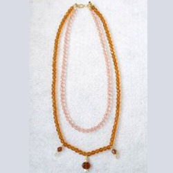 The Lillystone Collection Classic Faceted Glass Beaded Necklace