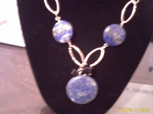 Lovely Lapis Stones Jewelry Set