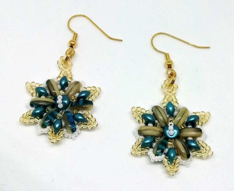 Passion Flower Earrings