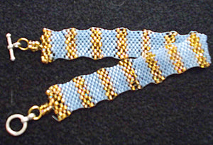 Peyote Waves Bracelet