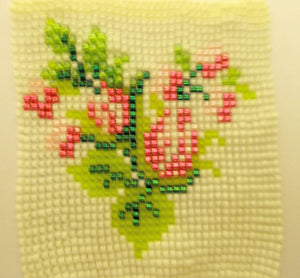 Pink Buds Mini Tapestry