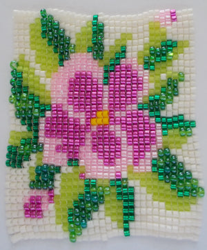 Pink Flower Mini Tapestry