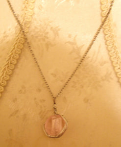 Pretty In Pink Pendant Necklace