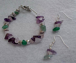 Semiprecious Jewelry Set