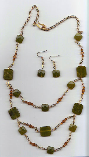 Serpentine Elegance Jewelry Set