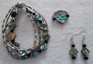 Shimmering Tide Jewelry Set
