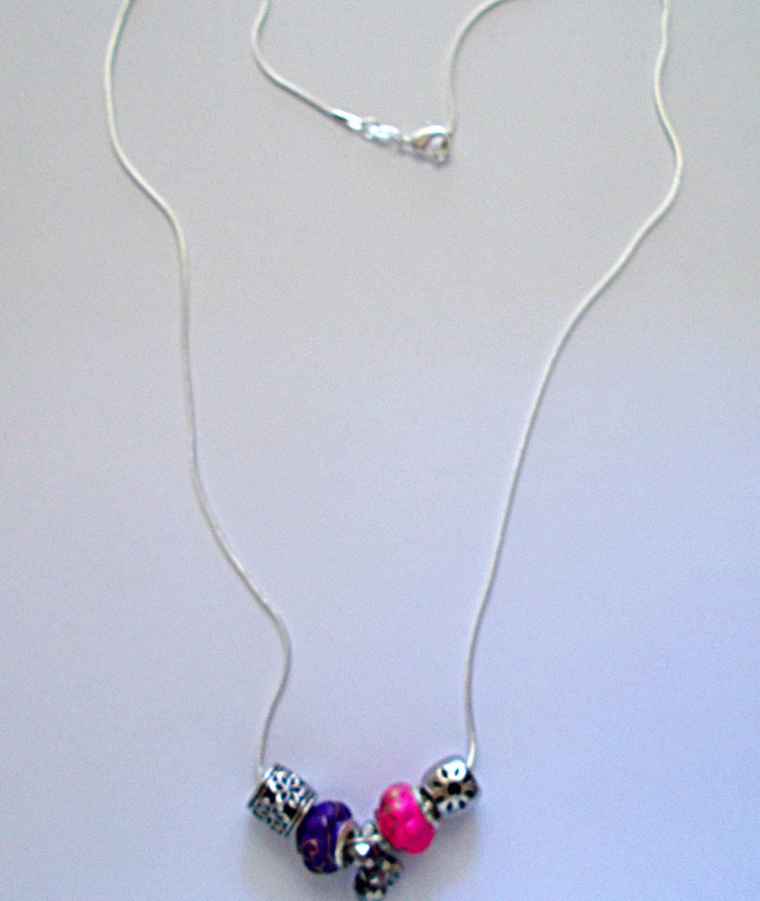 Silvery Finesse Necklace