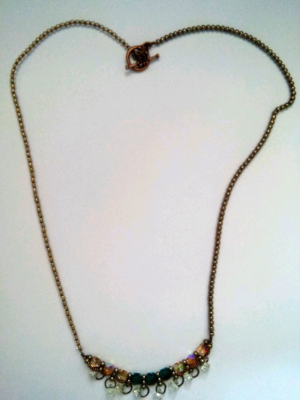 Simple Stitch Necklace
