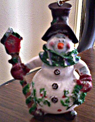Frosty Snowmen Ornaments