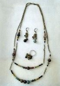 Sophisticated Stones Jewelry Set