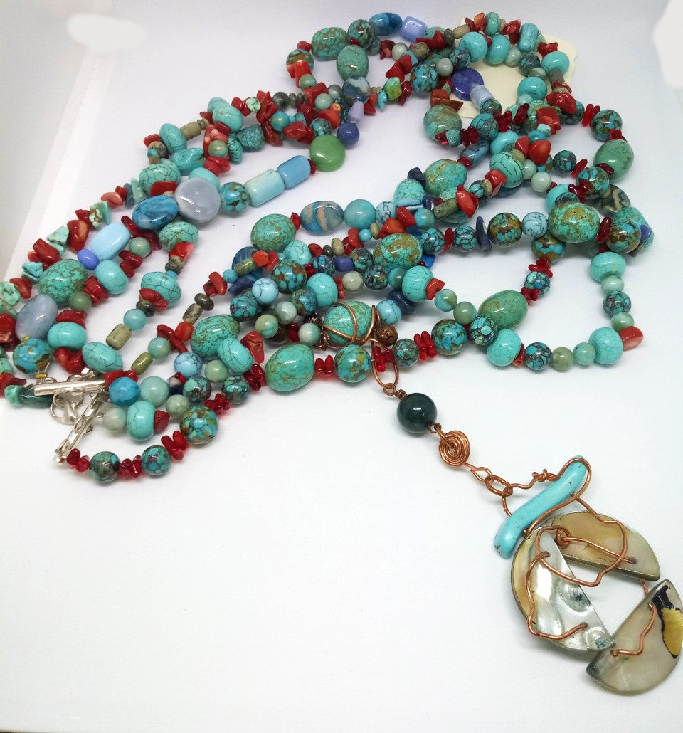 Southwest Statement Necklace