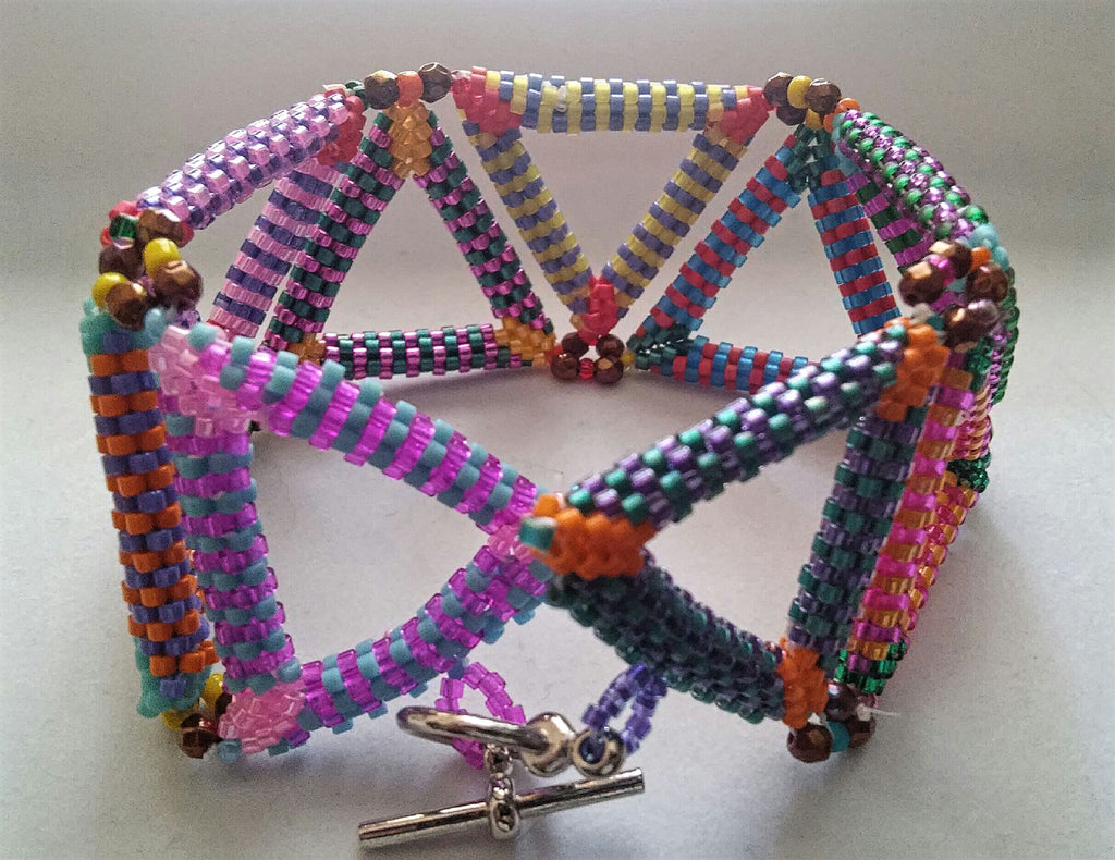 Trendy Triangles Bracelet