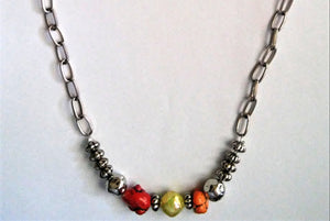 Warm and Cool Necklace
