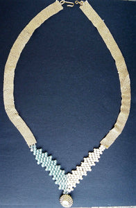Woven Elegance Necklace