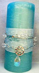 Wrapped in Crystal Candle Wrap