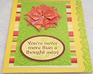 You're Never More Than a Thought Away Card