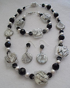 Zebra Chic Jewelry Set