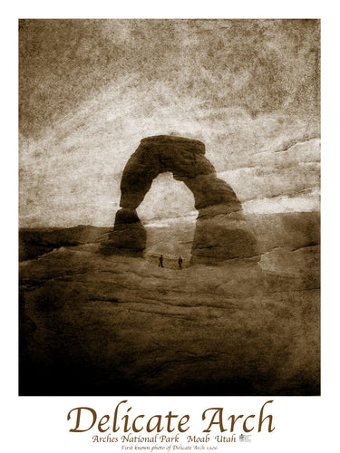 1st Delicate Arch Photograph Poster