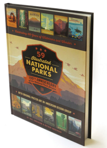 59 Illustrated National Parks - Hard Cover