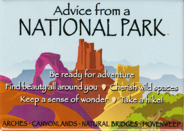 Advice from a National Park magnet