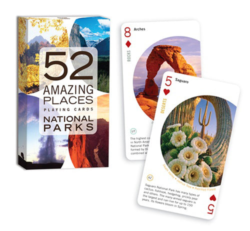 Amazing Places - National Parks Card Game