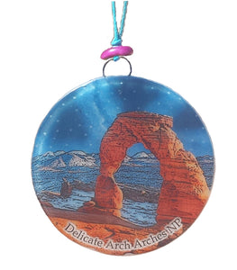 Arches Delicate Arch Glass Ornament/Sun Catcher