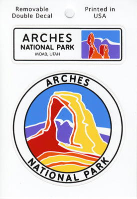 Arches Double Sticker