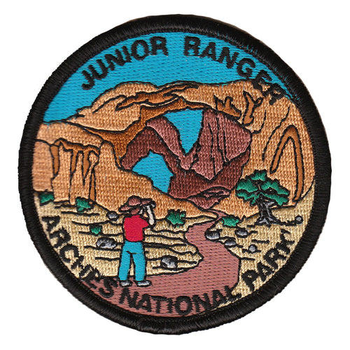 Arches Junior Ranger Patch