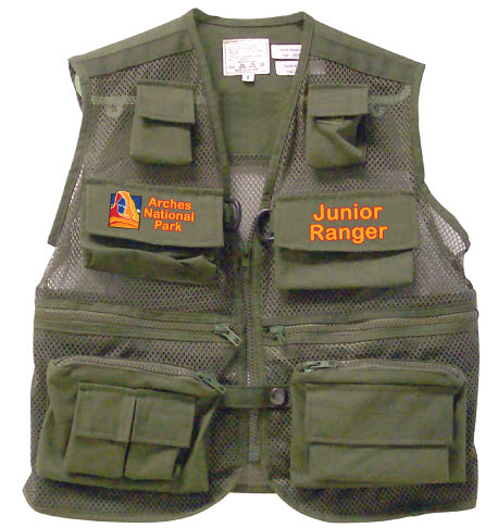 Arches Junior Ranger Vest