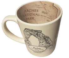 Load image into Gallery viewer, Arches Map Mug