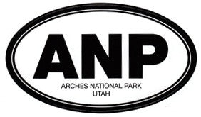 Arches National Park ANP  Sticker