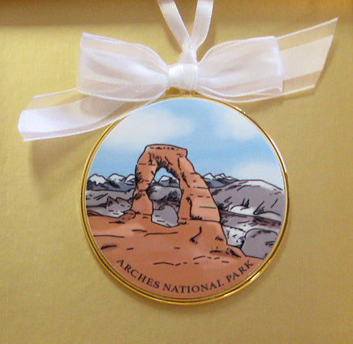 Arches National Park Ornament