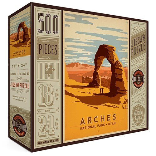 Arches National Park Retro Puzzle