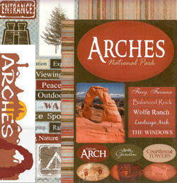 Arches National Park Scrapbook Kit