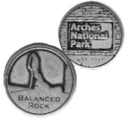 Arches Token - Balanced Rock
