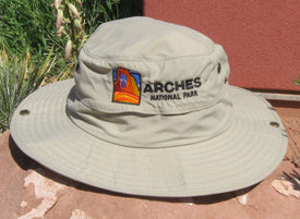 Arches Wide-Brimmed Explorer Hat
