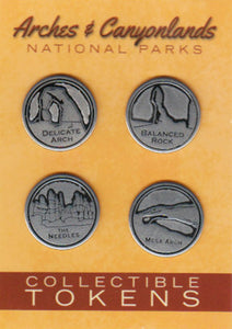 Arches and Canyonlands Token Set