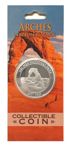 Arches collectable coin