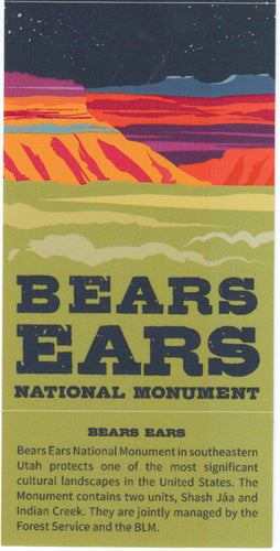 Bears Ears National Monument Stickers